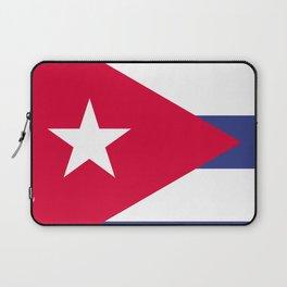 Cuba flag emblem Laptop Sleeve