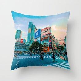 Tokyo 09 Throw Pillow