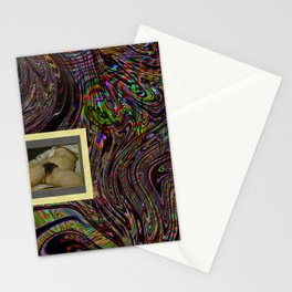 l'origine du monde en liquide Stationery Cards