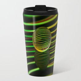 Floating glass ball abstract. Travel Mug