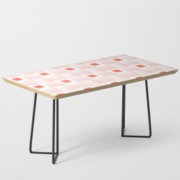 Rachel's Wavy Coral Pattern Coffee Table