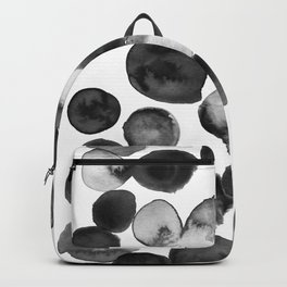 Black and White Drops Backpack