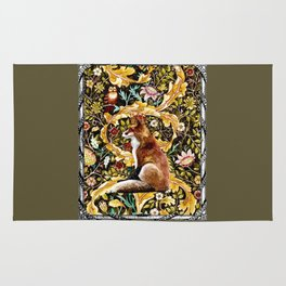 The Fox King Poster Version Rug