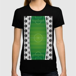 Soccer Football Field T-shirt