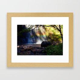Hidden Rainbow Framed Art Print