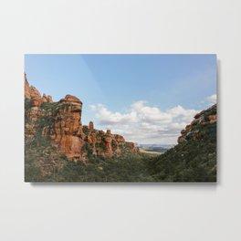 Sedona Canyons Metal Print
