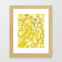 Don't Forget to Feed the Cats Framed Art Print