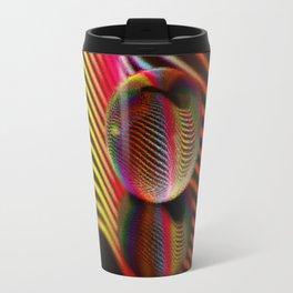 Ocean ripple glass ball Travel Mug