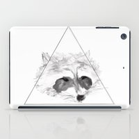 racoon iPad Cases featuring Racoon by Girard Camille