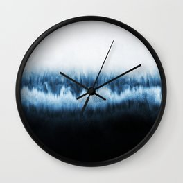 Forest of frost Wall Clock