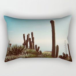 Le Jardin Botanique Rectangular Pillow