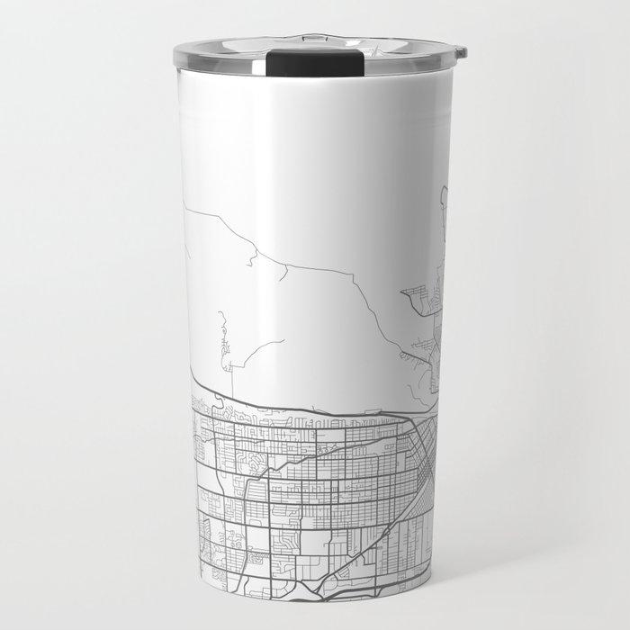 BILLINGS Map Print Travel Mug