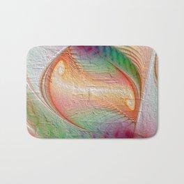 elegant flames -12- Bath Mat