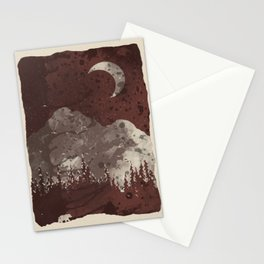 Winter Finds the Bear... Stationery Cards