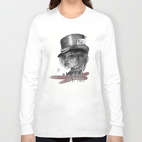 The Mad Hatress Long Sleeve T-shirt