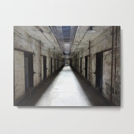 Eastern State Penitentiary Metal Print