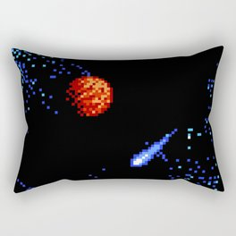 The Voyage of a Wishing Star Rectangular Pillow