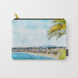 The Promenade, Nice, France, by Jennifer Berdy Carry-All Pouch