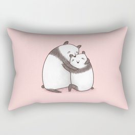 Panda Cuddle Rectangular Pillow