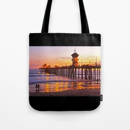 HB Sunset Picture Takers Tote Bag