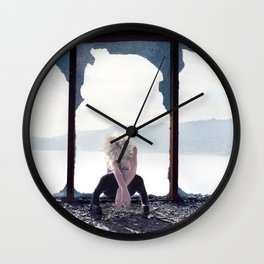 """""""Shattered"""" Wall Clock"""