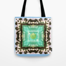 across the universe: palm isles mandala Tote Bag