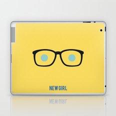 New Girl - Minimalist Laptop & iPad Skin
