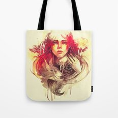 Purity In Red Tote Bag