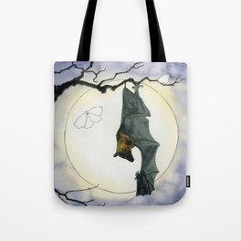 Moonlight Bat Tote Bag