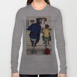 If Norman Rockwell Lived in Today's Society Long Sleeve T-shirt