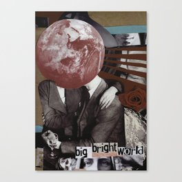 Big Bright World Canvas Print