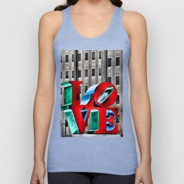 Love from Philly Unisex Tank Top