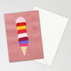I scream, you scream, we all scream for ice cream Stationery Cards