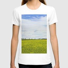 Canola Field Yellow - Landscape T-shirt
