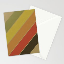 Retro Circus Color Palette Stationery Cards