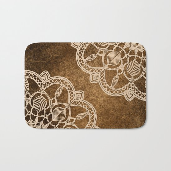 Coffee & Cream Bath Mat