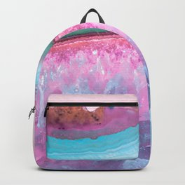 Rose Quartz and Serenity Agate Backpack