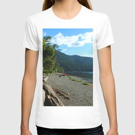 Lake Cresent Shore T-shirt