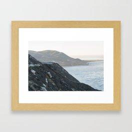Big Sur Morning Framed Art Print