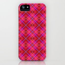 Red raspberry in a cage . iPhone Case