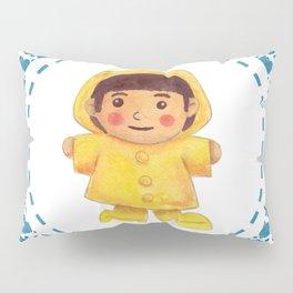 The Rain Girl Pillow Sham