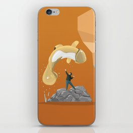 "Free ""Willy"" iPhone Skin"