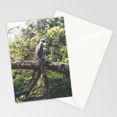 Sri Lankan Monkey Stationery Cards