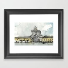 Lisbon Framed Art Print