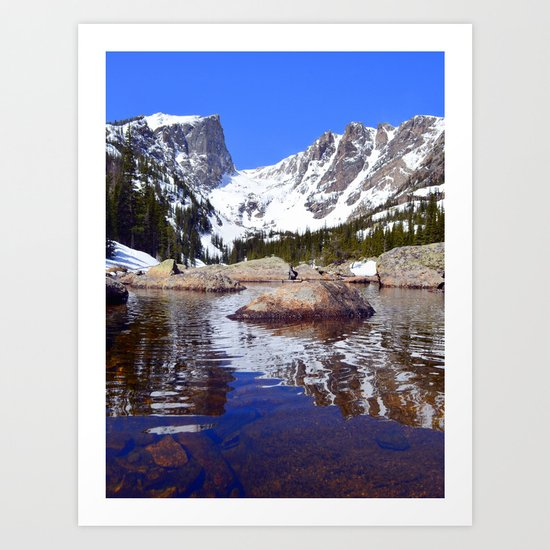 Rippled Reflection Art Print