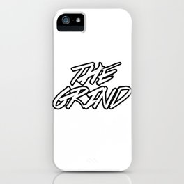 Grind iPhone Case