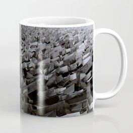 Black Steel Coffee Mug