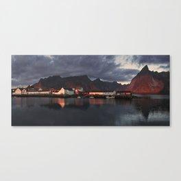 Blissful Rays Of Daylight Canvas Print