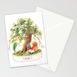 Live Oak Bonsai Stationery Cards