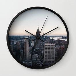 The, New York City Wall Clock